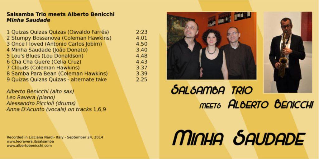 SalSamba minha saudade CD
